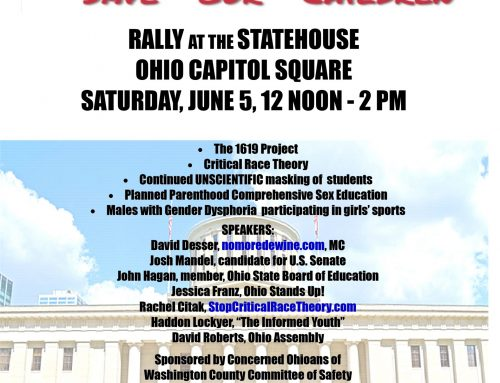 S.O.S. Save Our Children Rally At The Statehouse